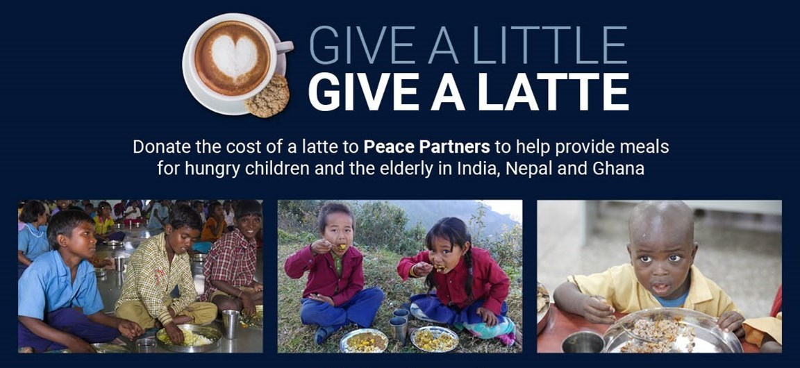Give A Latte in support of the Food For People Project